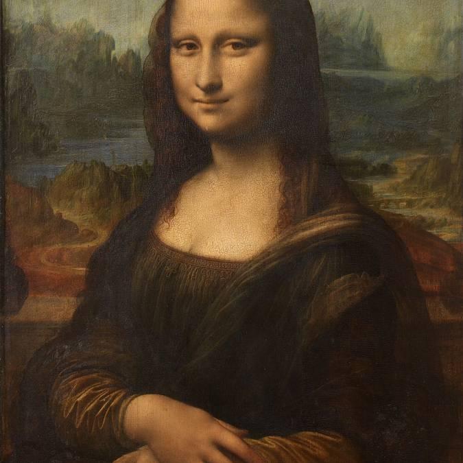 La famosa Mona Lisa de Leonardo da Vinci.
