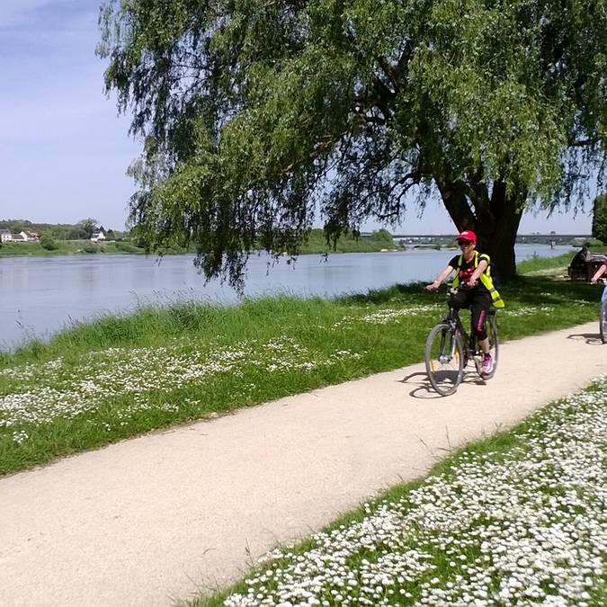 Valle del Loira. Carril bici