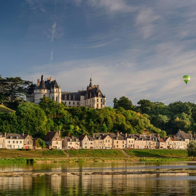 Castillo de Chaumont-sur-Loire desde el río