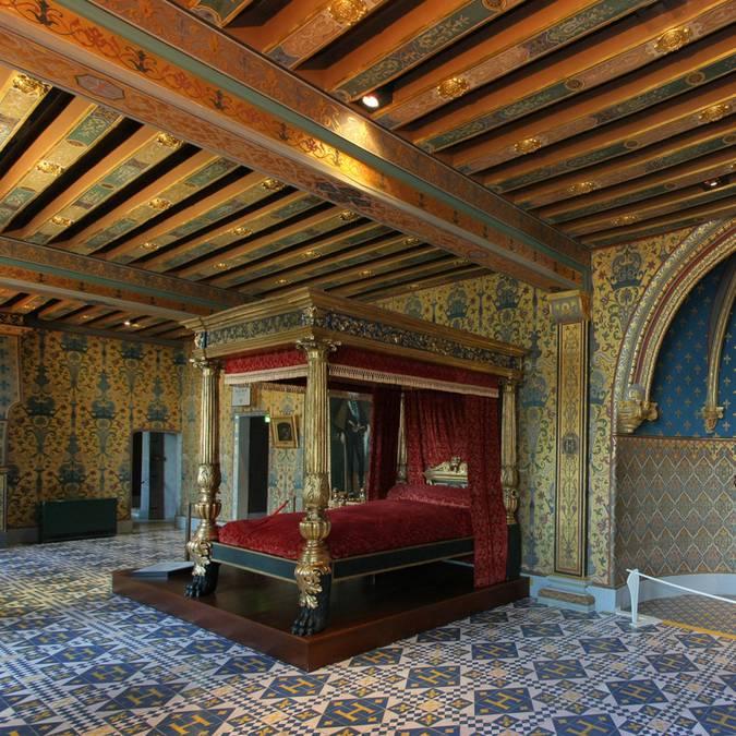 La cámara del rey en el Castillo de Blois