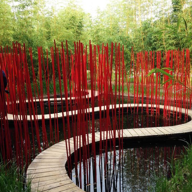 Los jardines excepcionales de Chaumont-sur-Loire