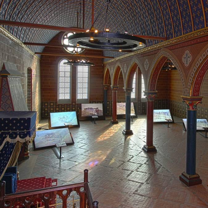 La Sala de los Estados Generales en el Castillo de Blois
