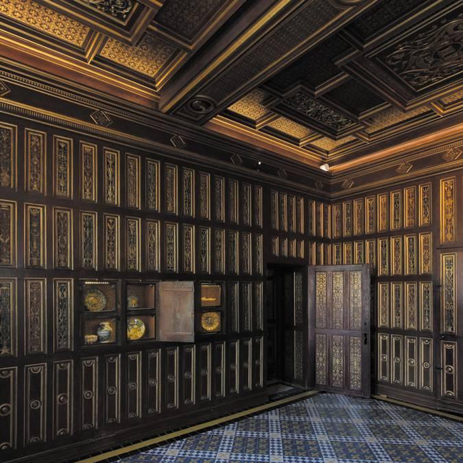 El studiolo en el Castillo de Blois