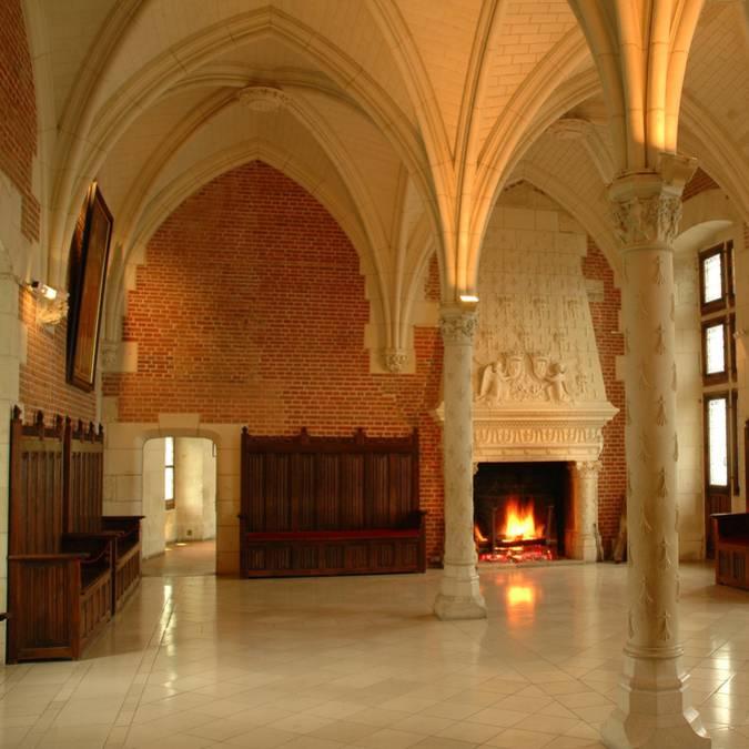 Castillo de Amboise, Sala del Consejo