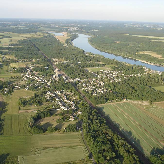Valle del Loira, pueblo de Onzain