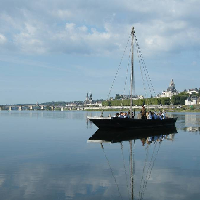 Toue en Blois