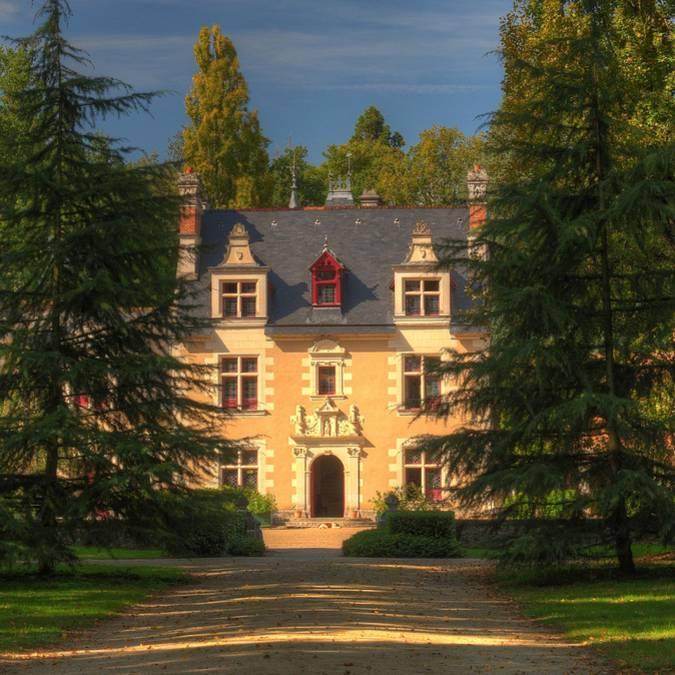 Le château de Troussay © L. de Serres