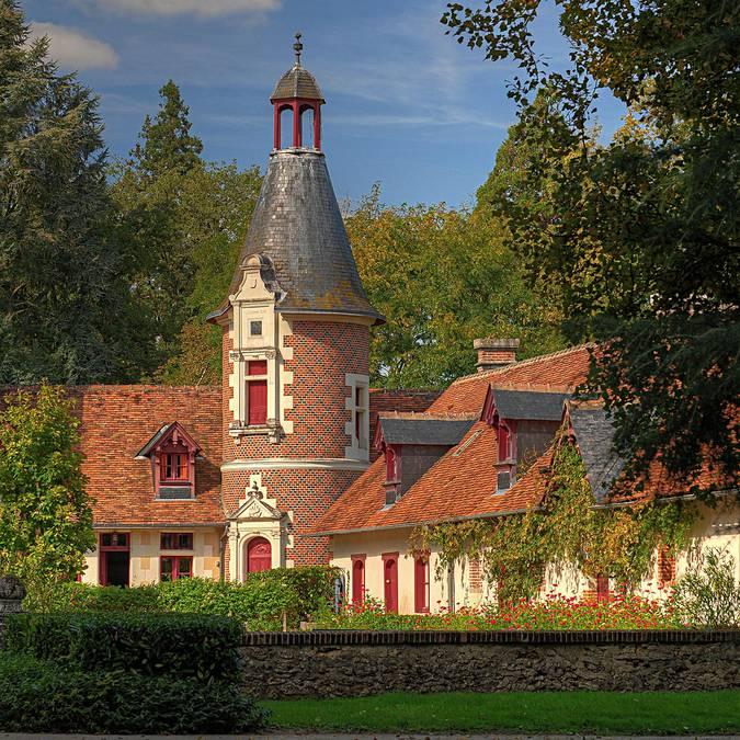 El castillo de Troussay © L. de Serres