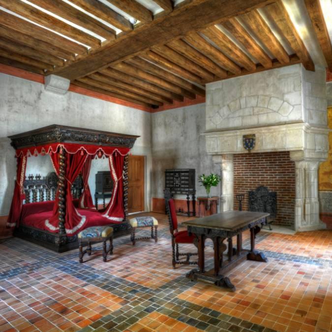 La habitación de Leonardo da Vinci. © OTBC