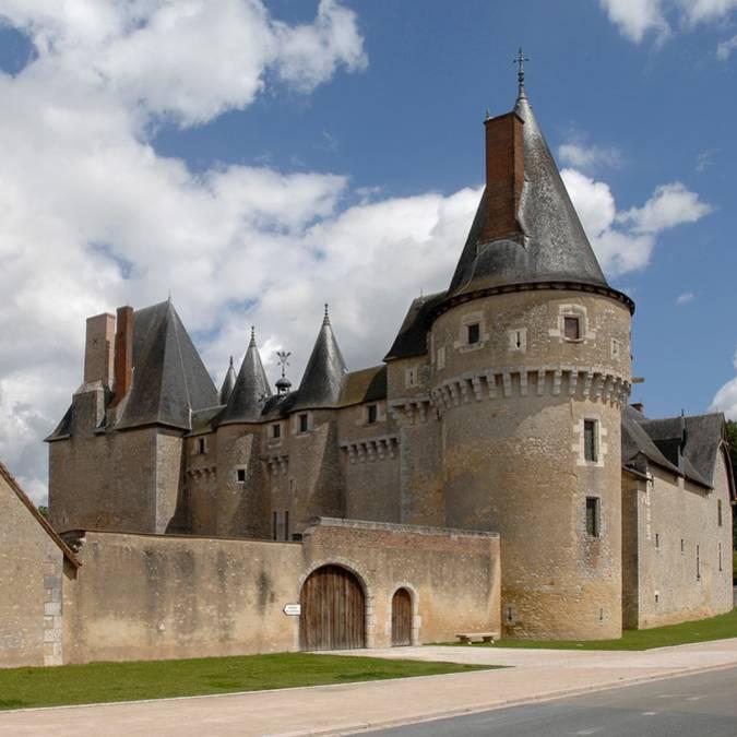 Castillo de Fougères-sur-Bièvre