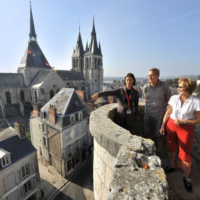 Paseos y visitas en lo alto de Blois. © OTBC